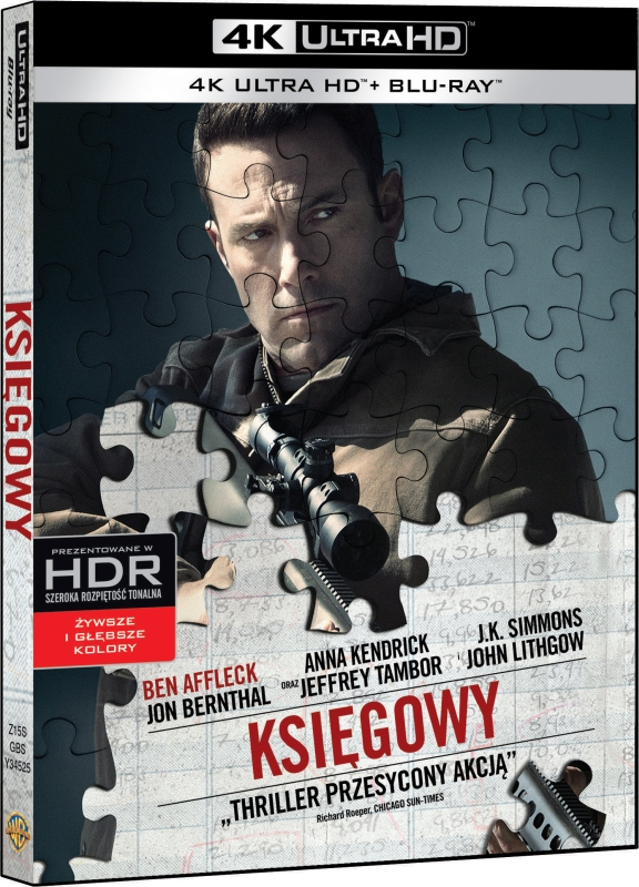 Ksiêgowy - Accountant (2016) - Film 4K Ultra-HD