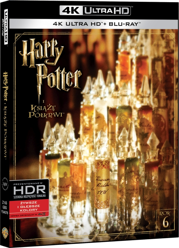 Harry Potter i Ksi±¿ê Pó³krwi - Harry Potter and the Half-Blood Prince (2009) - Film 4K Ultra-HD