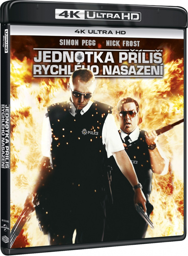 Hot Fuzz - Ostre Psy - Hot Fuzz (2007) - Film 4K Ultra-HD