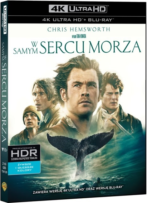 W Samym Sercu Morza - In the Heart of the Sea (2015) - Film 4K Ultra-HD